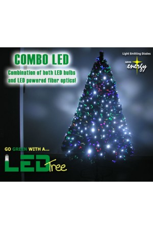 LED Fiber Optic Tree